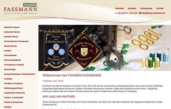 Vorschau von www.fahnen-fassmann.de, Fahnen Fassmann