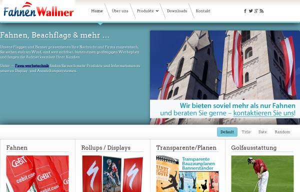 Vorschau von www.fahnen-wallner.at, Fahnen Wallner