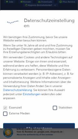 Vorschau der mobilen Webseite www.webafahnen.de, WEBA-Fahnen