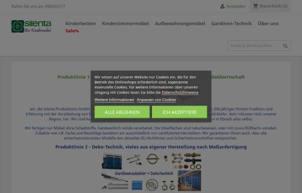 Vorschau von www.silenta-shop.de, Silenta Produktions-GmbH