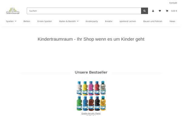 Vorschau von www.kindertraumraum.de, SRSS Limited