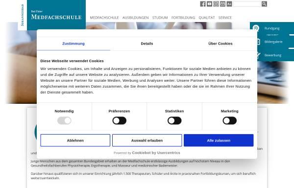 Vorschau von www.medfachschule.de, Medizinische Berufsfachschule Bad Elster GmbH