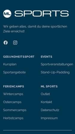 Vorschau der mobilen Webseite www.physio-tuerpe.de, Praxis für Physiotherapie Karin Türpe
