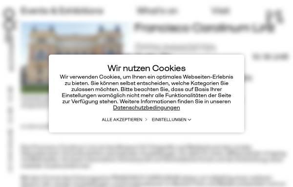 Vorschau von www.landesgalerie.at, Landesgalerie Oberösterreich
