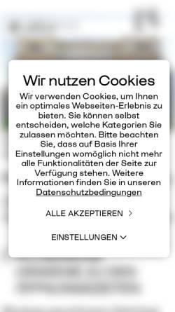 Vorschau der mobilen Webseite www.landesgalerie.at, Landesgalerie Oberösterreich