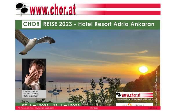 Vorschau von www.chor.at, Chor.at
