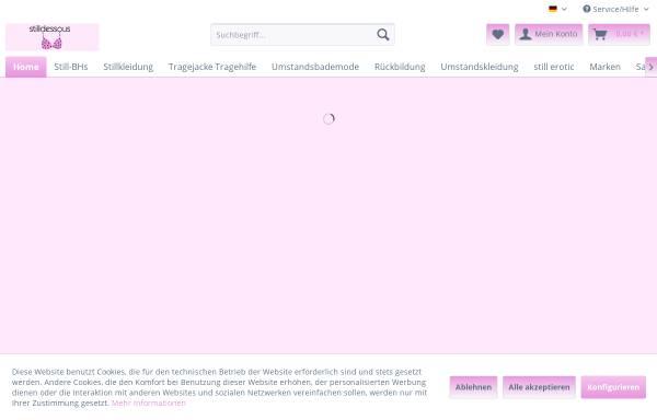 Vorschau von www.stilldessous.com, Luzie Lus Lingerie, Christine Jerxsen