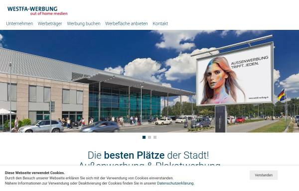 Vorschau von www.westfa-werbung.de, Westfa-Werbung Modersohn GmbH & Co. KG