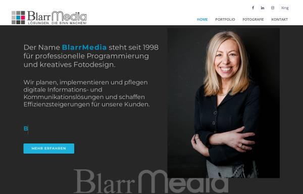 Vorschau von www.blarrmedia.de, A&T Blarr Software
