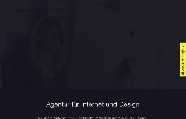 Vorschau von www.prointernet.de, Pro Internet GmbH & Co. KG