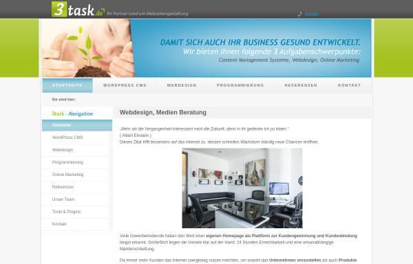 Vorschau von www.3task.de, 3Task - Frank Stemmler