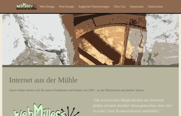 Vorschau von www.webmillers.de, webMillers Internet Design und Programmierung GbR