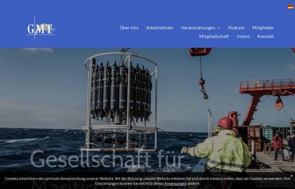 Vorschau von www.maritime-technik.de, GMT Gesellschaft für Maritime Technik e.V.