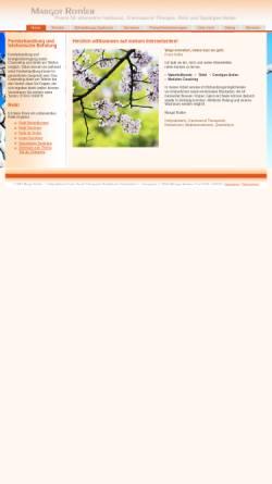 Vorschau der mobilen Webseite margot-rottler.de, Margot Rottler