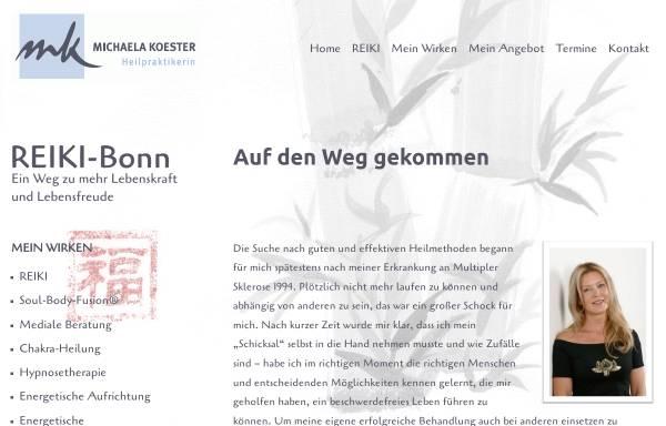 Vorschau von www.reiki-bonn.info, Michaela Koester
