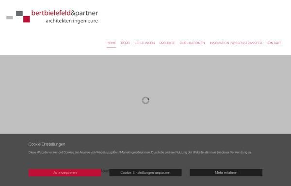 Vorschau von bertbielefeld.com, Bert Bielefeld Architekten