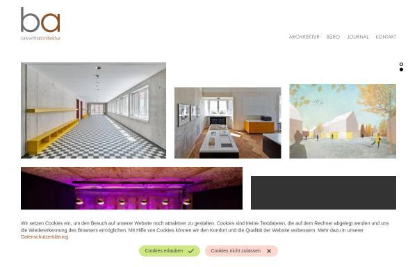Vorschau von www.brewittarchitektur.de, Brewitt Architektur
