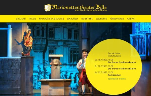 Vorschau von www.marionettentheater-ush.de, Marionettentheater Bille