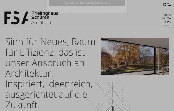 Vorschau von www.frielinghaus-schueren.de, Frielinghaus; Schüren