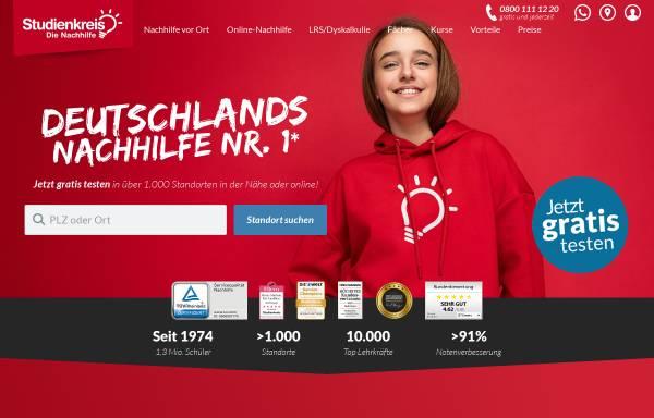 Vorschau von www.studienkreis.de, Studienkreis GmbH