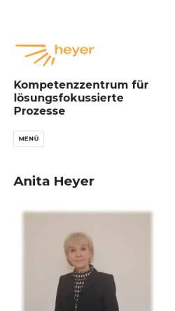 Vorschau der mobilen Webseite aheyer.de, Heyer, Anita