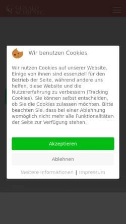 Vorschau der mobilen Webseite koges.at, Koges Trainings; Inh.Gerald Schifneg