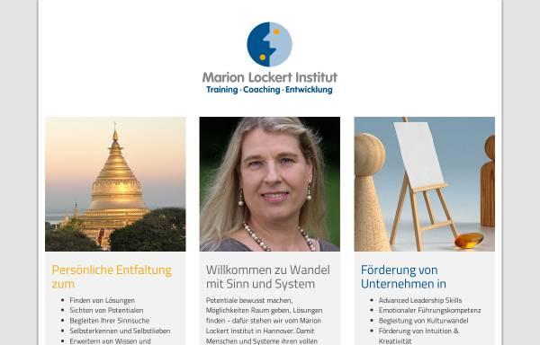 Vorschau von www.marion-lockert-institut.de, Marion Lockert Institut