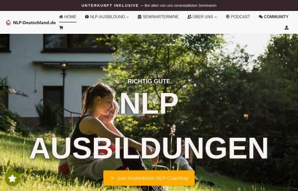 Vorschau von www.nlp-deutschland.de, NLP-Deutschland.de, Julian Wolf