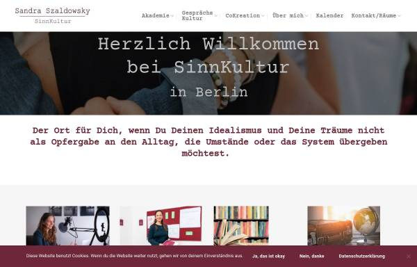 Vorschau von www.nlp-coaching-in-berlin.de, Szaldowsky, Sandra