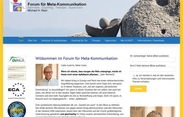 Vorschau von www.mk-forum.com, Klein, Michael H.