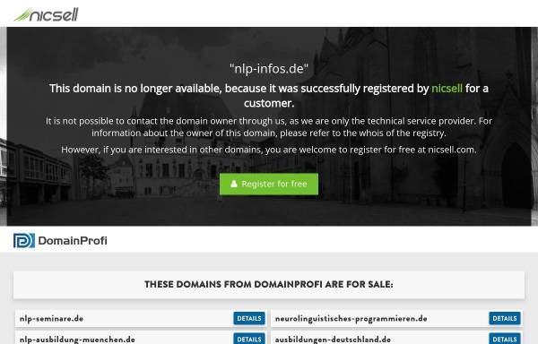 Vorschau von www.nlp-infos.de, Krebs, Richard