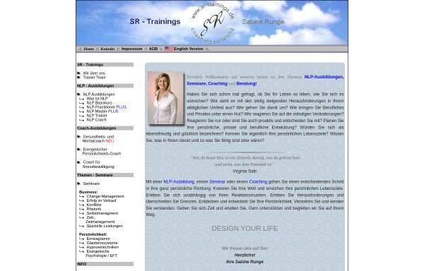 Vorschau von sr-training.de, Runge, Sabine