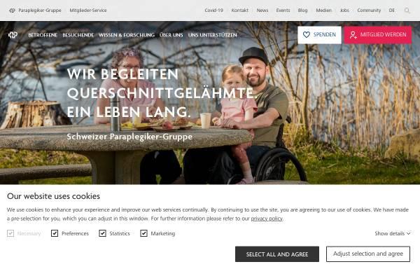 Vorschau von www.paranet.ch, Paranet