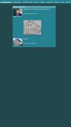 Vorschau der mobilen Webseite www.architekt-pfannkuche.de, Volker Pfannkuche, Architekturbüro
