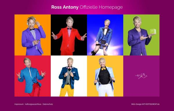 Vorschau von www.ross-antony.com, Antony, Ross