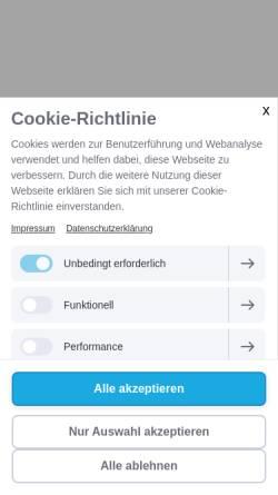 Vorschau der mobilen Webseite www.heike-guendisch.de, Gündisch, Heike