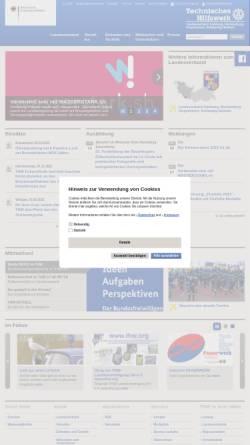 Vorschau der mobilen Webseite www.lv-hhmvsh.thw.de, THW Länderverband Hamburg, Mecklenburg-Vorpommern und Schleswig-Holstein