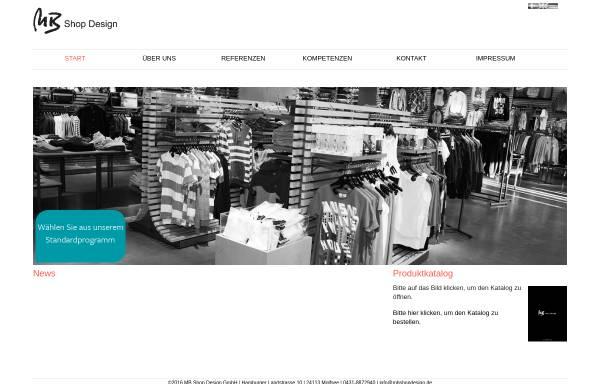 Vorschau von www.mbshopdesign.de, MB shop design GmbH