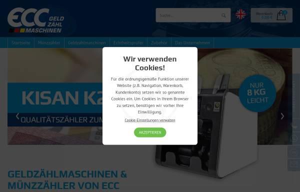 Vorschau von www.eurocounter.de, ECC-Gehrig Münzzähl- & Sortiermaschinen