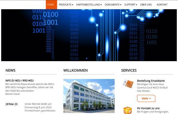 Vorschau von www.gammacard.ch, Gamma & Co. GmbH