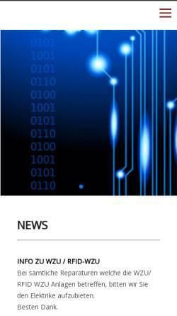 Vorschau der mobilen Webseite www.gammacard.ch, Gamma & Co. GmbH
