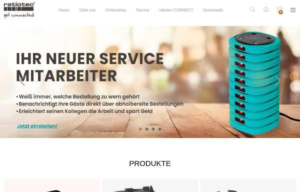 Vorschau von www.ratio-tec.com, Ratiotec Cash Services GmbH & Co.KG