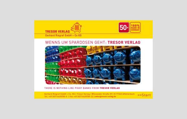 Vorschau von www.tresor-verlag.de, Tresor Verlag - Gerhard Riegraf GmbH & Co.KG