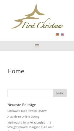 Vorschau der mobilen Webseite www.rosenau.com, Dr. Rosenau Consult GmbH