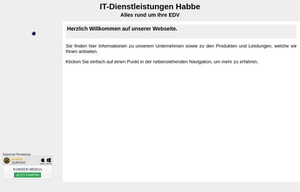 Vorschau von missi.habbe.de, Missi by IT-Dienstleistungen Michael Habbe