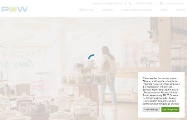 Vorschau von www.puw-gmbh.de, P&W GmbH