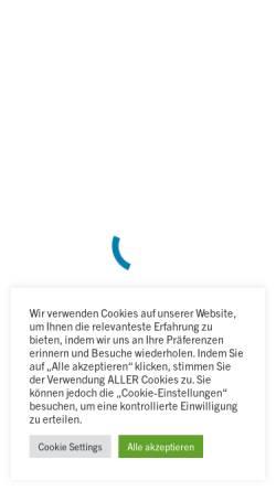 Vorschau der mobilen Webseite www.puw-gmbh.de, P&W GmbH
