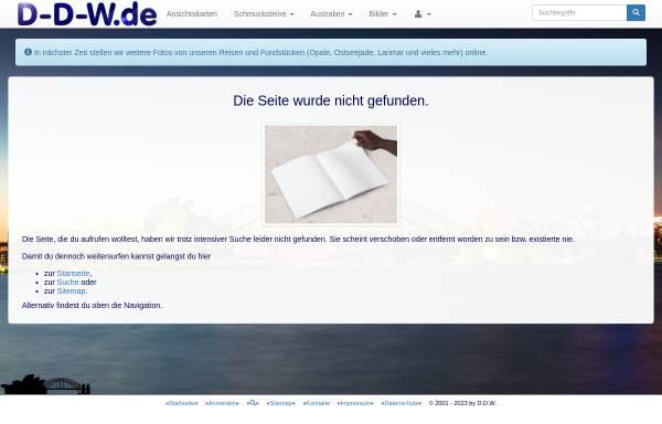 Vorschau von www.d-d-w.de, Down Under [Dieter Deuerling-Wegner]