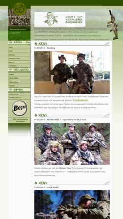 Vorschau der mobilen Webseite www.astkm.de, ASTKM - Airsoft Team Kommando Münchhausen