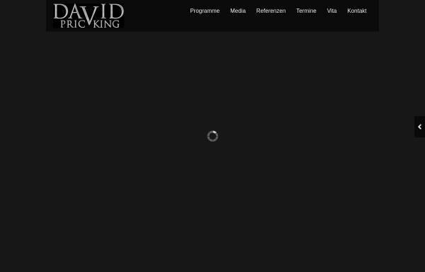 Vorschau von www.david-pricking.de, David Pricking
